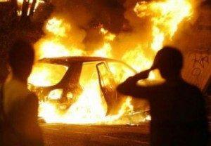 Erchie: Incendiata l'auto del presidente antiracket