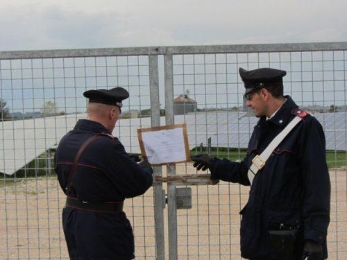 Sandonaci: Sequestrato un Parco Fotovoltaico per un valore di circa 35milioni di euro