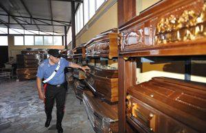 Brindisi: Pugno in faccia ad un imprenditore funebre