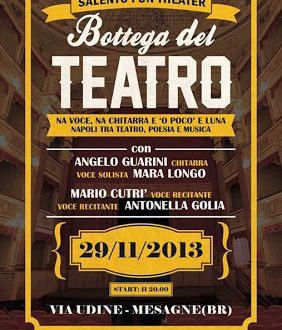 Salento Fun Theater. Il 29 novembre si apre la scena